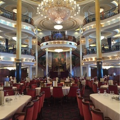 Main Dining Room on Freedom of the Seas