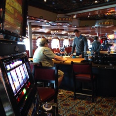 Casablanca Casino on Carnival Elation