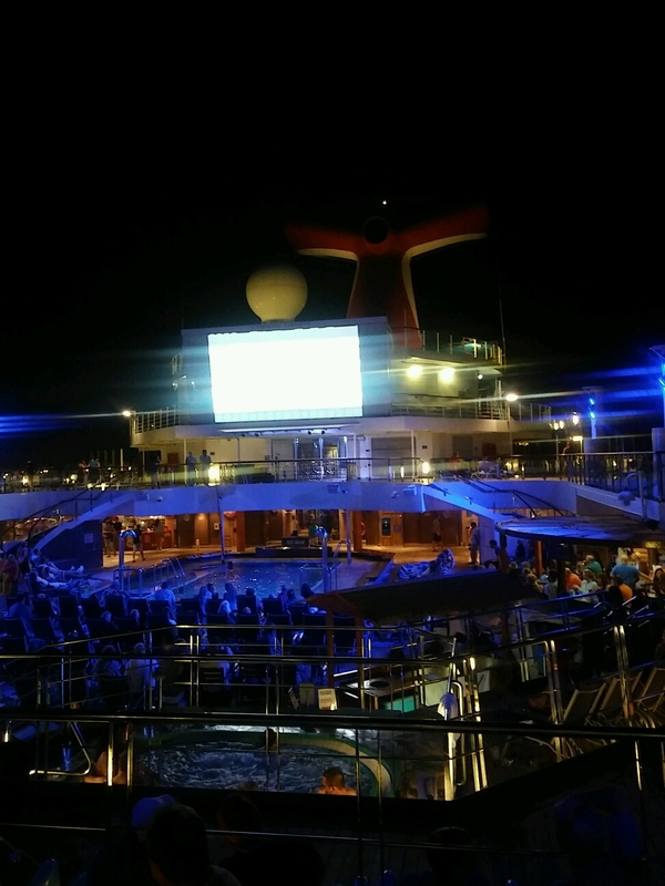 Carnival Liberty, Entertainment, Carnival SeasideTheater