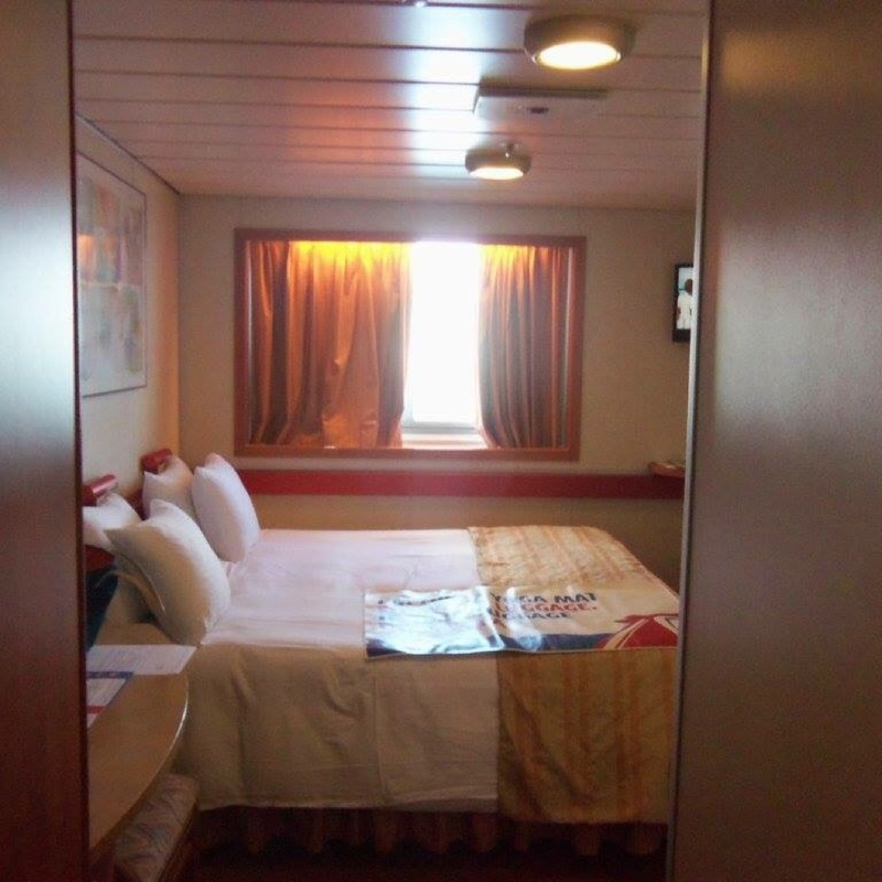 Carnival Sensation cabin R109