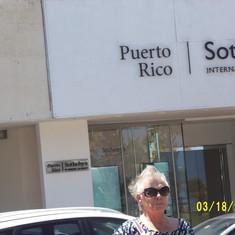 Judy in Puerto Rico