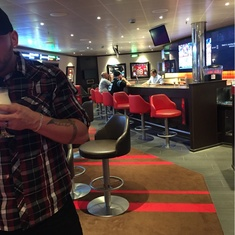 Skybox Sports Bar on Carnival Sunshine