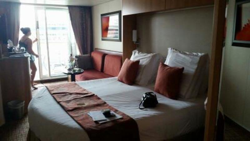 Balcony Cabin 1015 On Celebrity Silhouette Category C3
