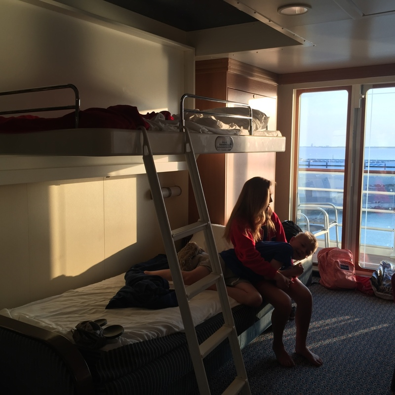 Balcony Cabin 9118 On Disney Dream Category 4a