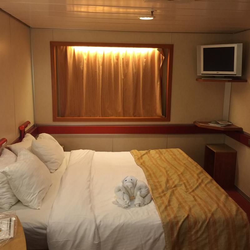 Carnival Ecstasy cabin U139