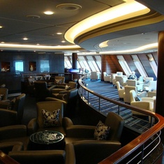 Commodore Club on Queen Mary 2