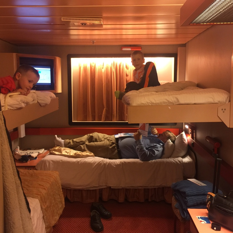 Inside Cabin M299 On Carnival Elation Category 4b