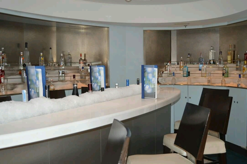 Champagne Bar/Martini Bar on Celebrity Solstice