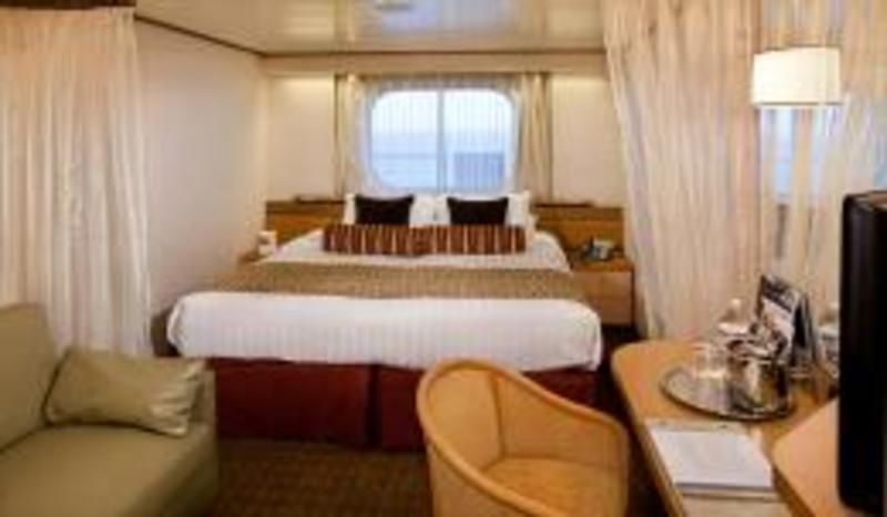 Large Oceanview Stateroom (Obstructed View) on Rotterdam