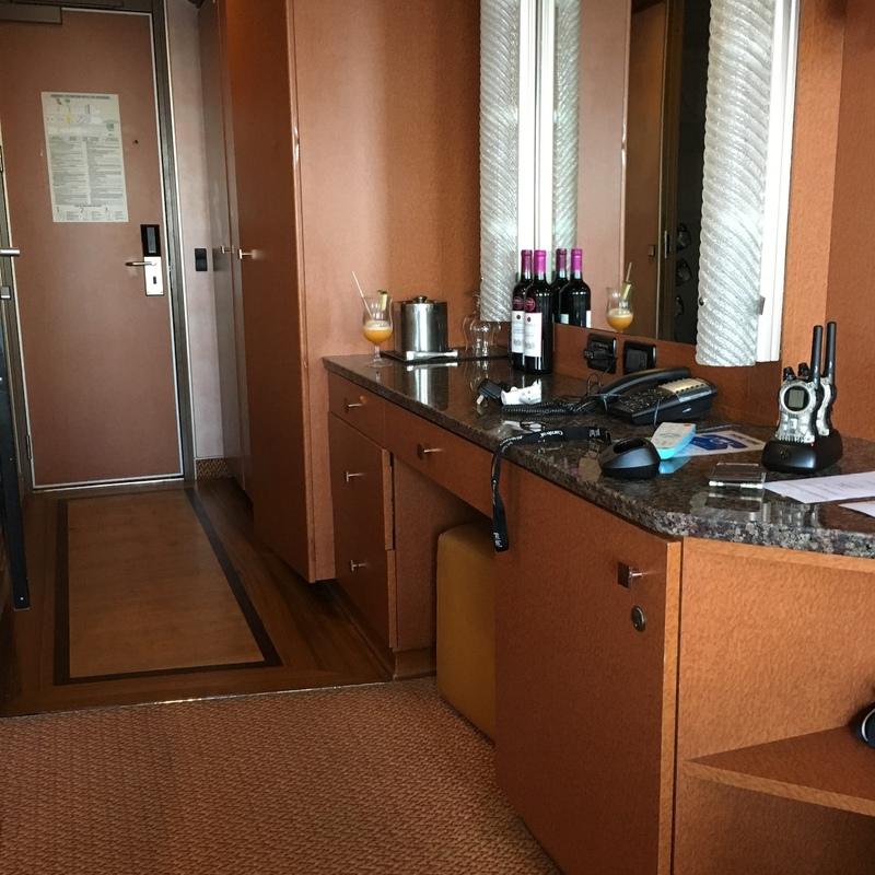 Carnival Fascination cabin V7