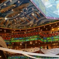 Atrium on Costa Fortuna