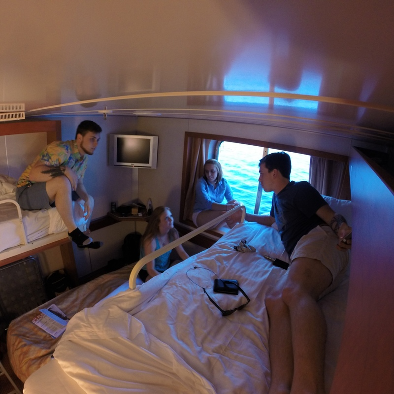 Oceanview Cabin E190 on Carnival Fascination, Category 6D