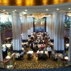 Cascades Dining Room on Radiance of the Seas