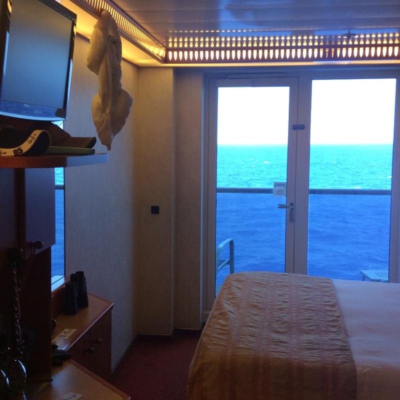 Carnival Spirit cabin 7210