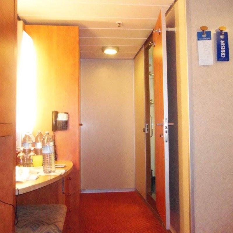 Interior Bunk Bed Stateroom Cabin Category 1a Carnival Sensation