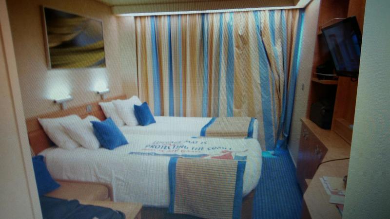 Carnival Sunshine cabin 8276