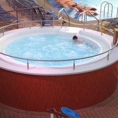 Whirlpools on Quantum of the Seas