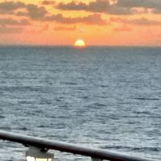 Sunbathing Area on Navigator of the Seas