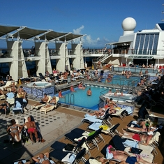 Pool on Celebrity Eclipse