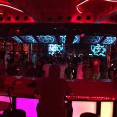 Red Carpet Dance Club on Carnival Splendor