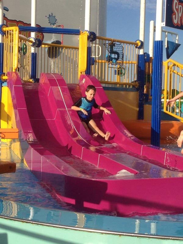 Carnival Spirit, Kid's Areas, Children''s Pool Area