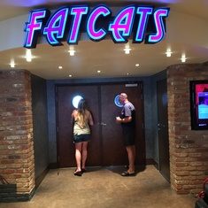 Fat Cats Jazz & Blues Club on Norwegian Breakaway