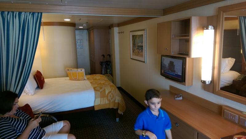 Balcony Cabin 9130 On Disney Fantasy Category 4a