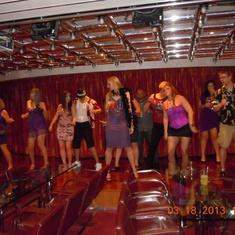 International Aft Lounge on Carnival Freedom