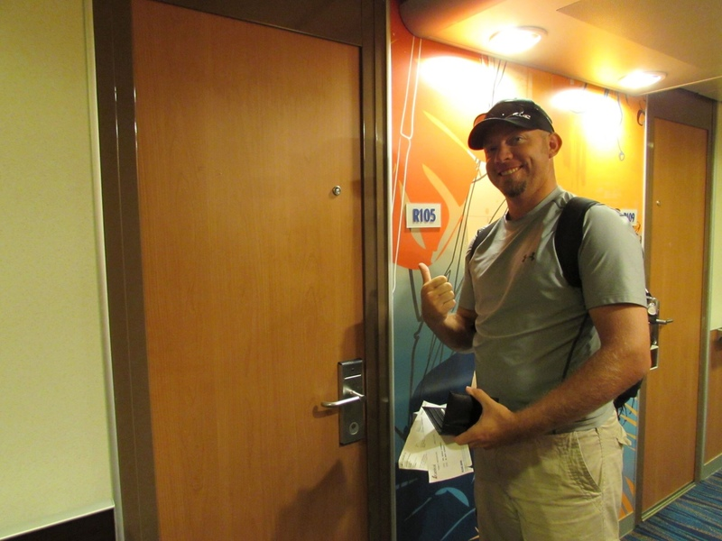 Carnival Fascination cabin R105