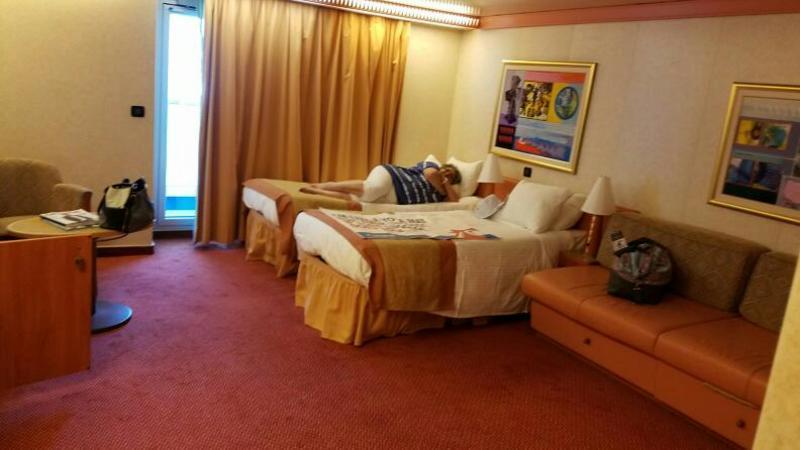 Carnival Liberty cabin 8442