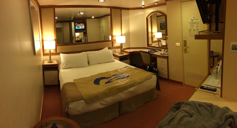 Inside cabin r514 on caribbean princess category ic for Princess cruise interior cabin