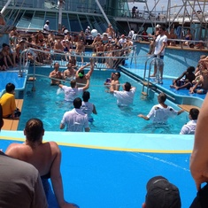 Swimming Pools on Vision of the Seas