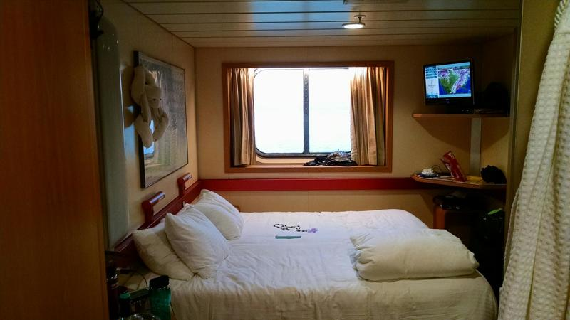 Oceanview Cabin M168 On Carnival Fantasy Category 6c