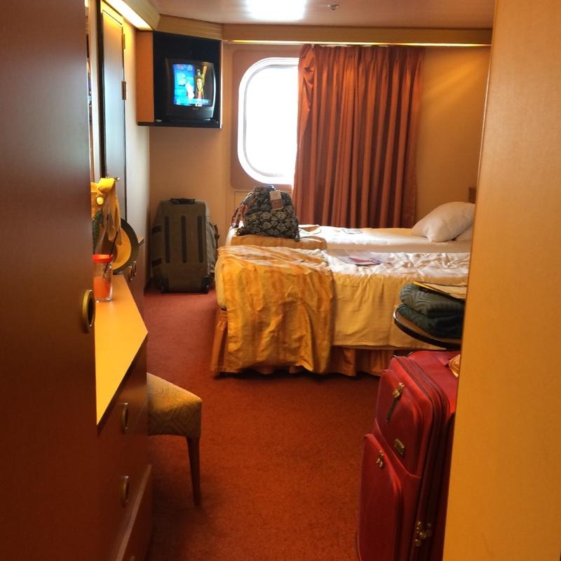 Carnival Triumph cabin 1350