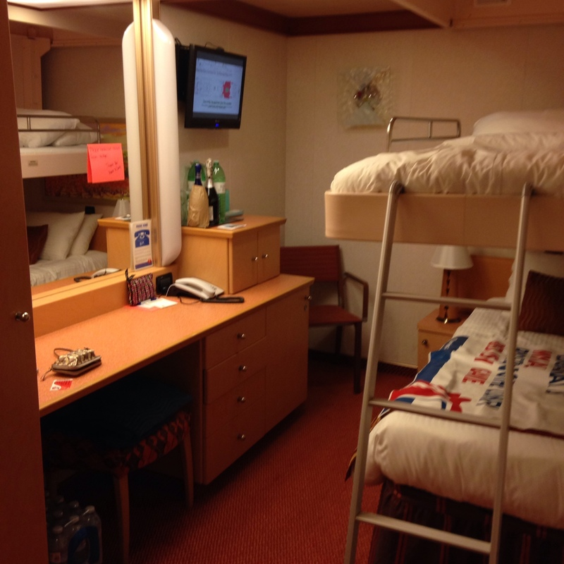 inside cabin 6226 on carnival dream category 1a
