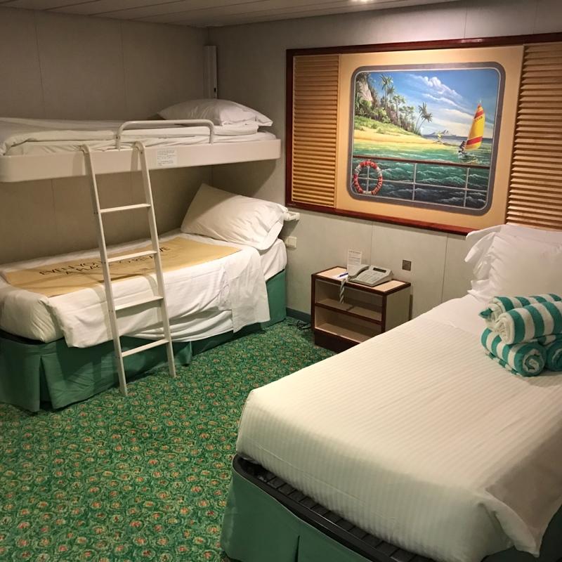 Family Inside Stateroom Cabin Category I2 Norwegian Spirit