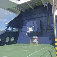 Basketball Court on Celebrity Summit