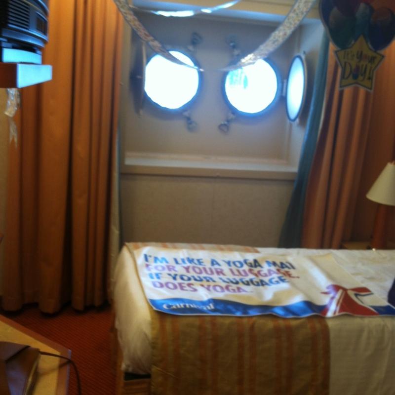 Interior Bunk Bed Stateroom on Carnival Valor