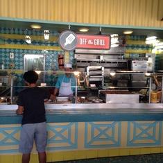 Restaurants on Carnival Imagination
