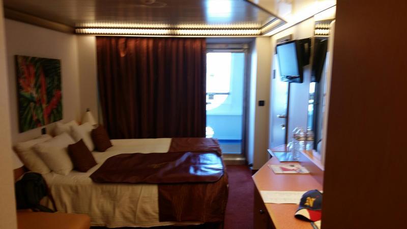 Carnival Magic cabin 2318