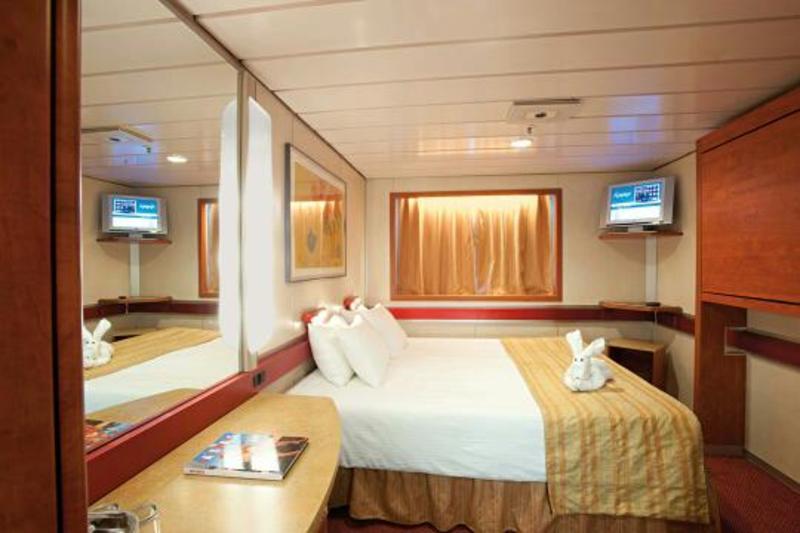 Carnival Ecstasy Interior Rooms Oceanview Cabin M134 o...
