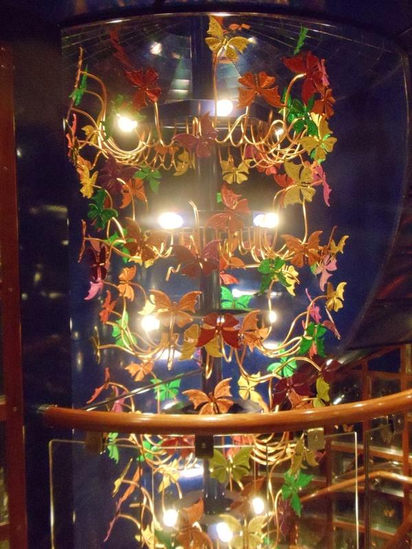 Butterflies Lounge on Carnival Pride