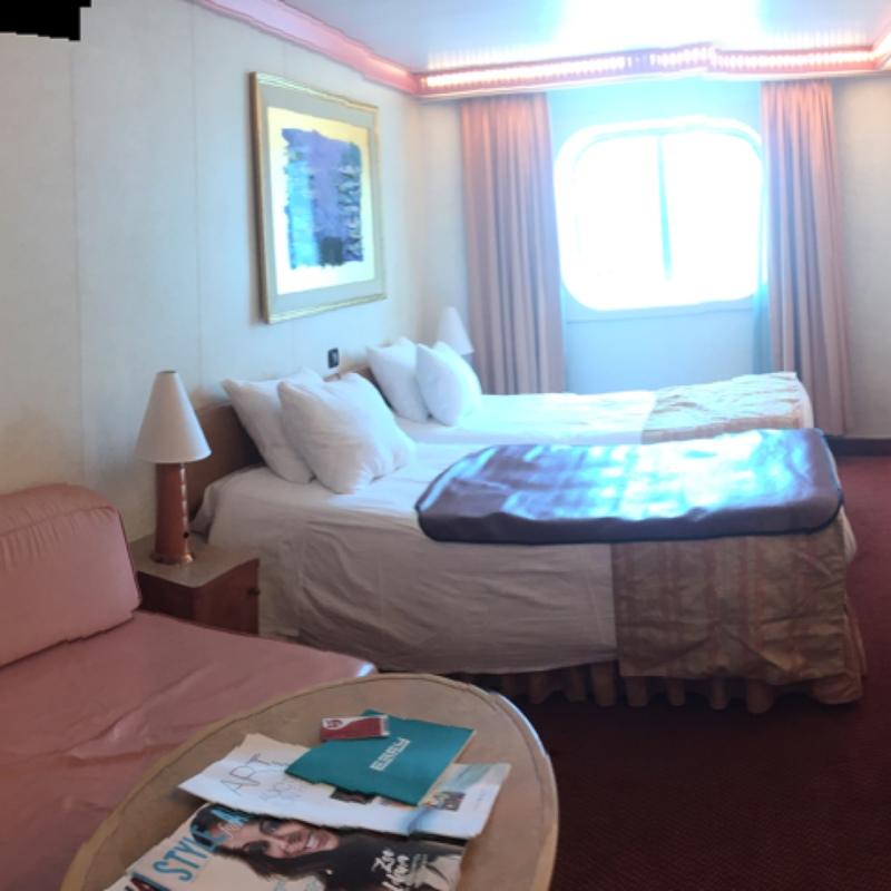 Carnival Conquest cabin 1261