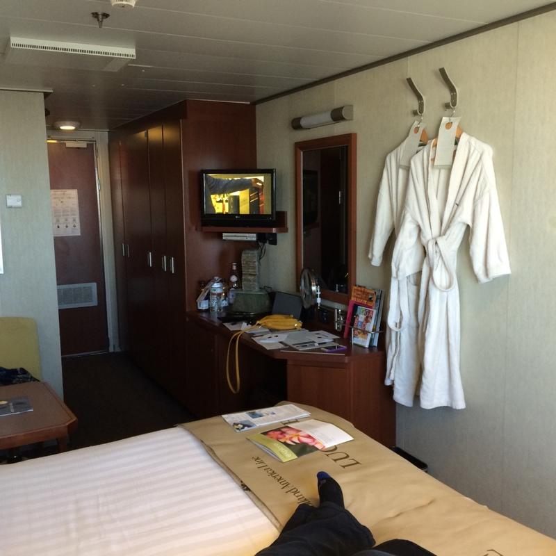 Balcony Cabin 11004 On Eurodam Category Vt