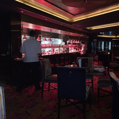 Cagney''s Steakhouse on Norwegian Epic