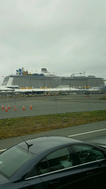 Entering Cape Bayonne NJ - Anthem of the Seas