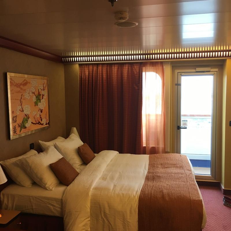 Carnival Splendor cabin 1017