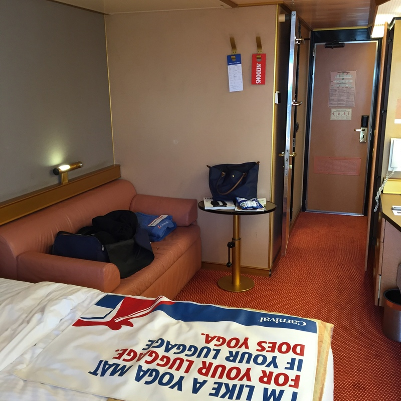 Balcony Stateroom on Carnival Victory