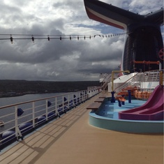 Slide Entrance on Carnival Spirit