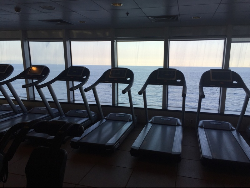 Fitness Center on Norwegian Spirit